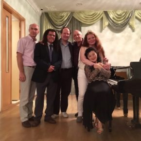 Faculty members 1st White Night Piano, St. Petersburg 2017