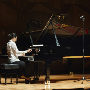 Rehearsal at IBK, Seoul Arts, 2011