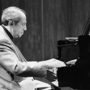 Legendary musician, philosopher, pianist, my last teacher, Prof. Gyorgy Sebok *1999