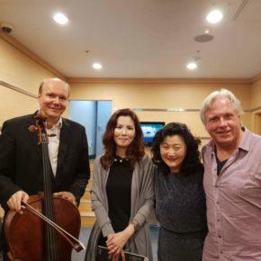 Truls Moerk, Annette Kang, Markus Stenz, after an unforgetful music @Sejong